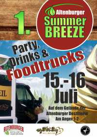 Streetfood-Festival Summerbreeze with Trucks & Drinks, Eintritt Frei
